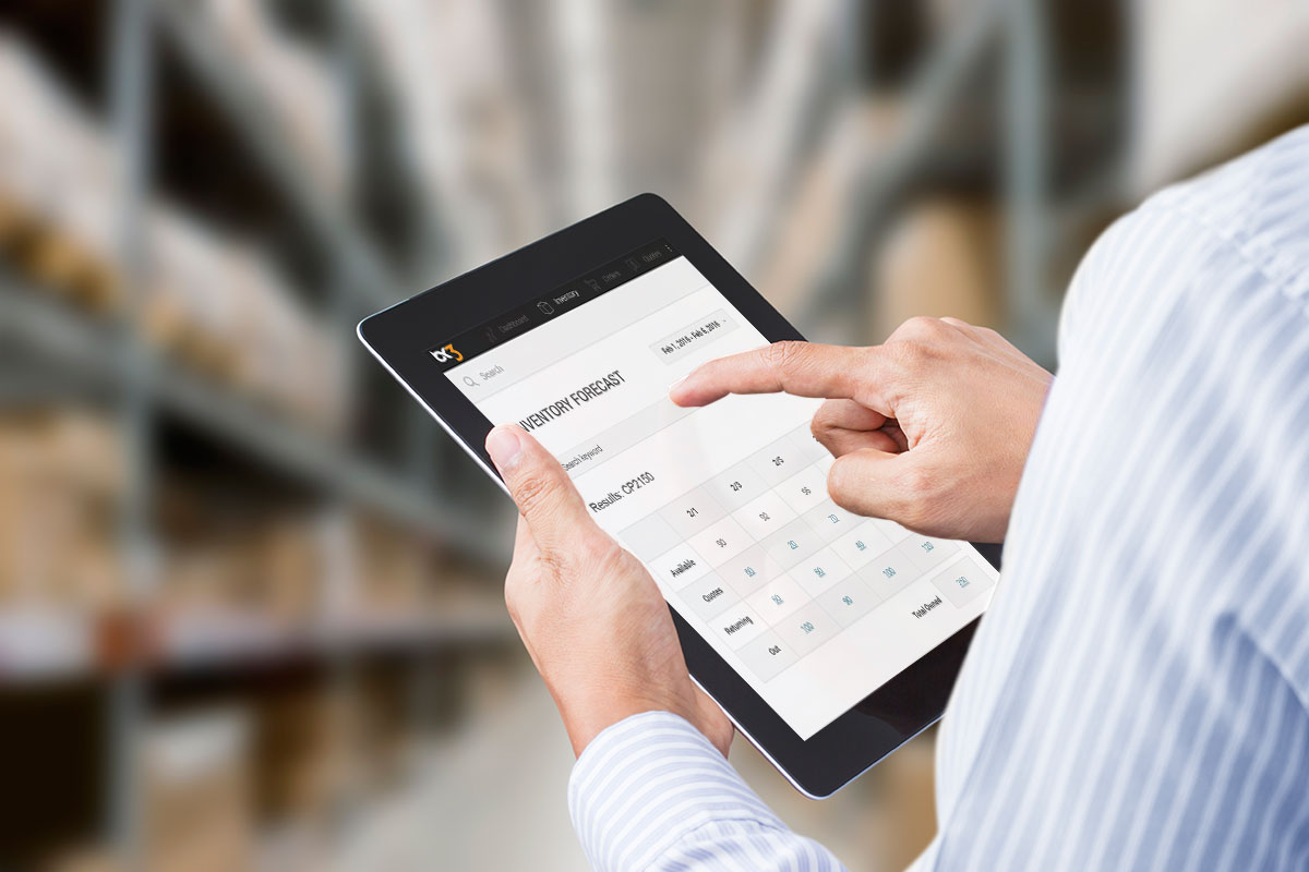 Inventory control automation
